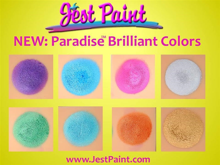 Paradise Face Paint By Mehron Palette - 8 Brilliant - Jest Paint Store