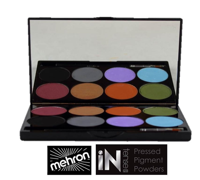 Mehron INtense Pressed Powder Pigments - Earth - Jest Paint Store