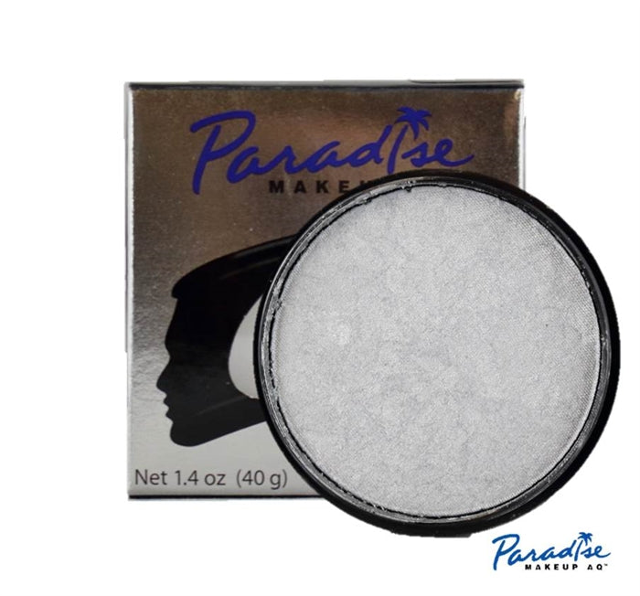 Paradise Face Paint By Mehron - Brilliant Argente 40gr - Jest Paint Store