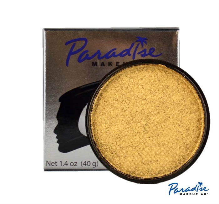 Paradise Face Paint By Mehron - Brilliant Dore 40gr - Jest Paint Store