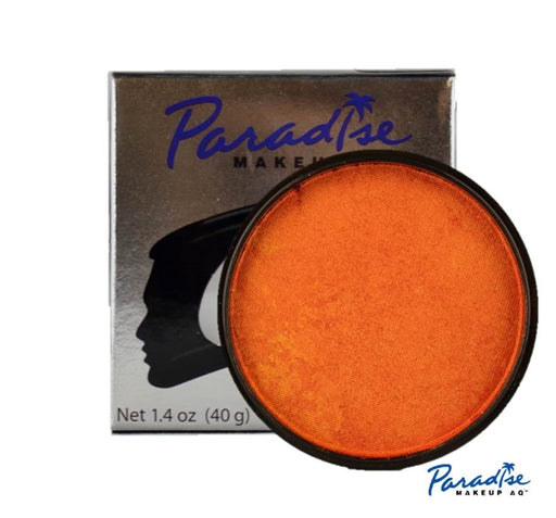 Paradise Face Paint By Mehron - Brilliant Orange 40gr - Jest Paint Store