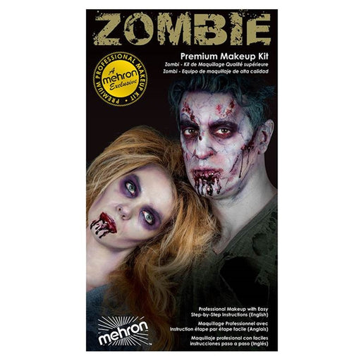 Premium Makeup Kit by Mehron - Zombie Kit - Jest Paint Store