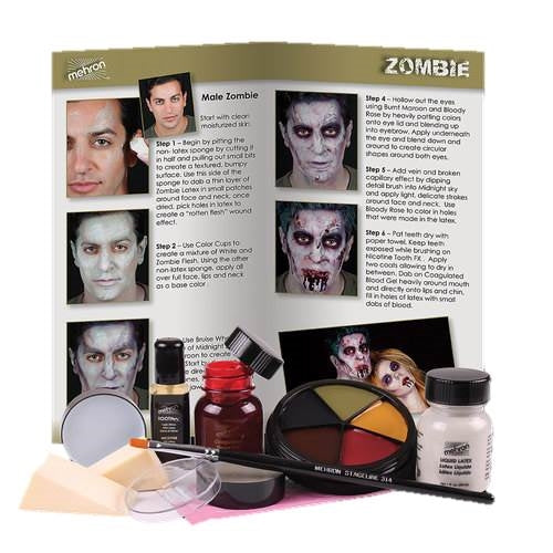 Premium Makeup Kit by Mehron - Zombie - Jest Paint Store