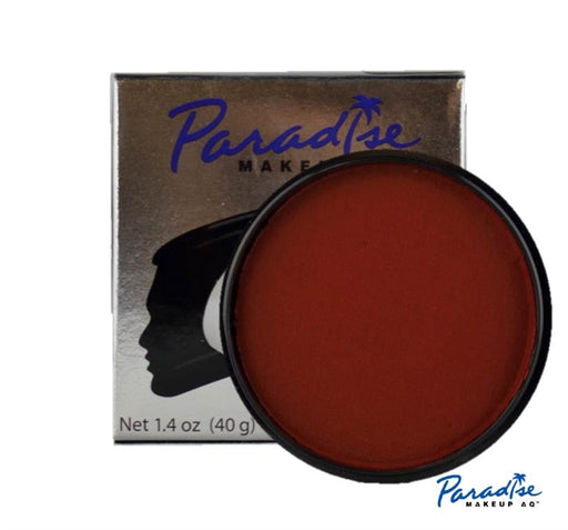 Paradise Face Paint By Mehron - Red 40gr - Jest Paint Store