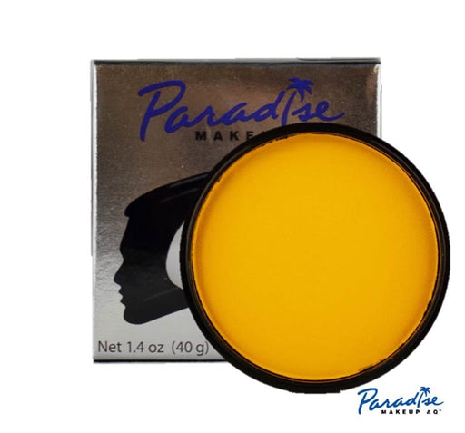 Paradise Face Paint By Mehron  - Yellow 40gr - Jest Paint Store