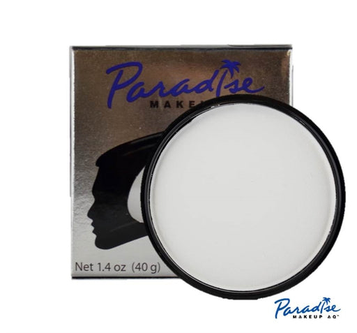 Paradise Face Paint By Mehron - White 40gr - Jest Paint Store