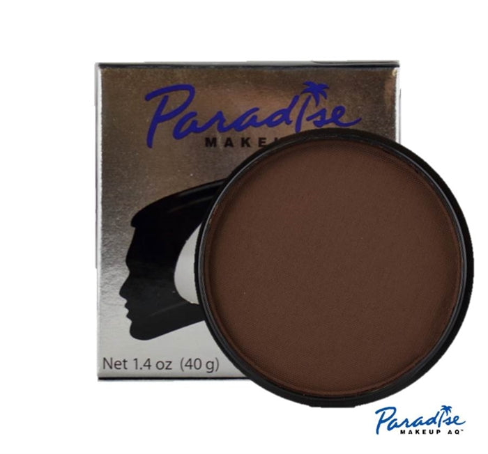 Paradise Face Paint By Mehron - Dark Brown 40gr - Jest Paint Store