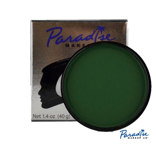 Paradise Face Paint By Mehron - Dark Green 40gr - Jest Paint Store