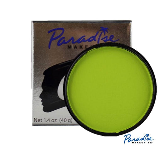 Paradise Tropical Face Paint By Mehron - Lime 40gr - Jest Paint Store