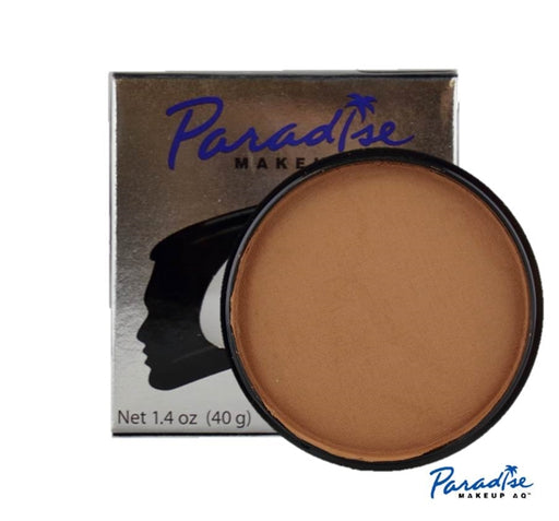 Paradise Face Paint By Mehron- Light Brown 40gr - Jest Paint Store
