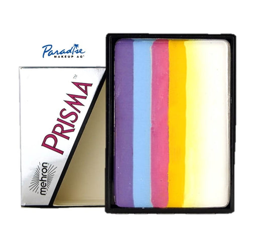 Paradise PRISMA Rainbow Face Paint Cake By Mehron | Twist  50gr - Jest Paint Store