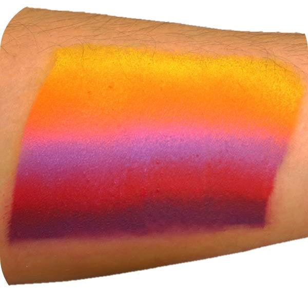Paradise Prisma Face Paint  By Mehron - Sunset -  50gr - Jest Paint Store