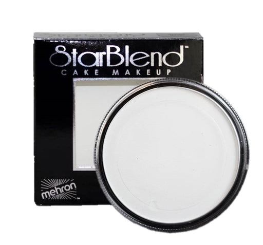 StarBlend Powder Face Paint By Mehron  - White 56gr - Jest Paint Store