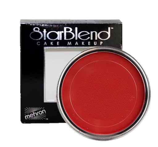 StarBlend Powder Face Paint By Mehron  - Red 56gr - Jest Paint Store