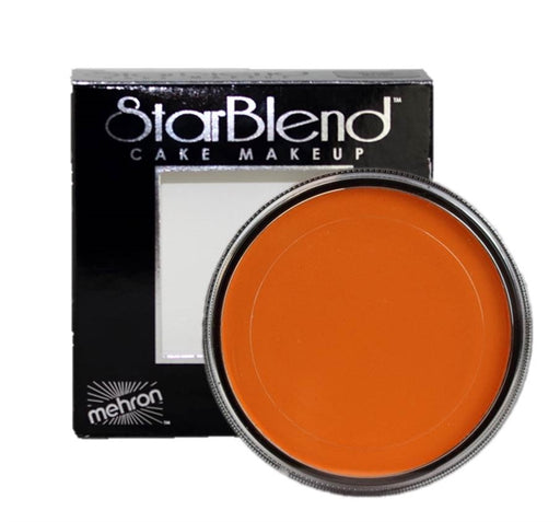 StarBlend Powder Face Paint  By Mehron - Orange 56gr - Jest Paint Store