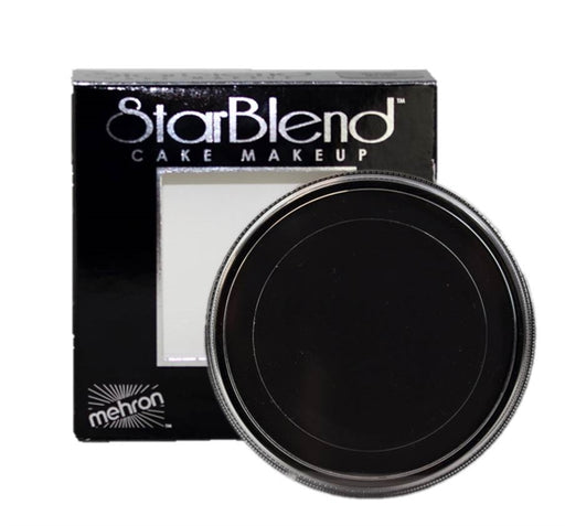 StarBlend Powder Face Paint By Mehron  - Black 56gr - Jest Paint Store