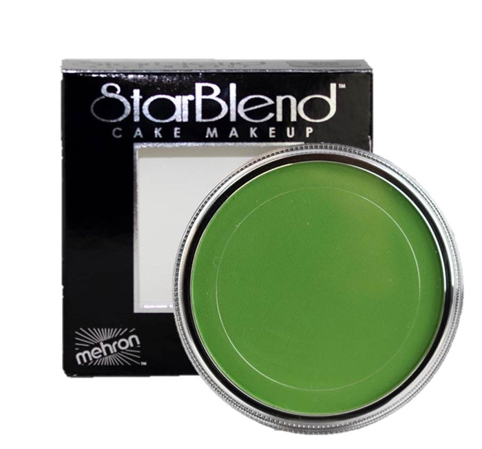 StarBlend Powder Face Paint  By Mehron  - Green 56gr - Jest Paint Store