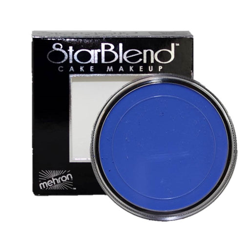 StarBlend Powder Face Paint By Mehron  - Blue 56gr - Jest Paint Store