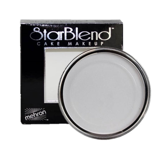 StarBlend Powder  Face Paint By Mehron - Light Grey 56gr - Jest Paint Store