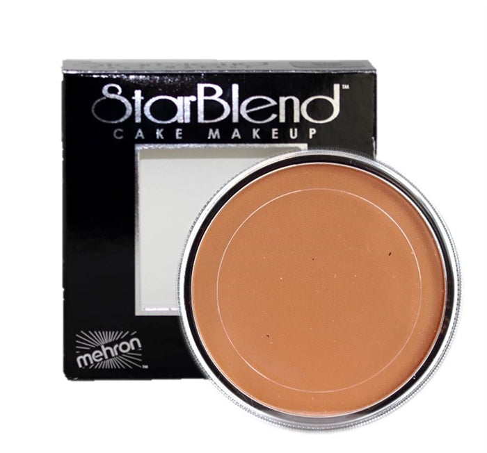 StarBlend Powder   Face Paint By Mehron - Bronzed Tan 56gr - Jest Paint Store