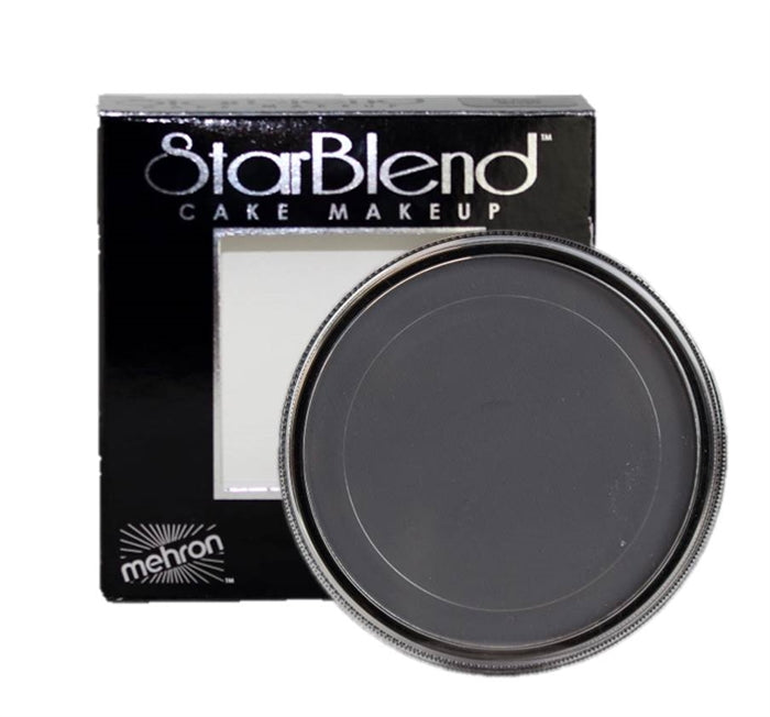 StarBlend Powder  Face Paint  By Mehron - Monster Grey 56gr - Jest Paint Store