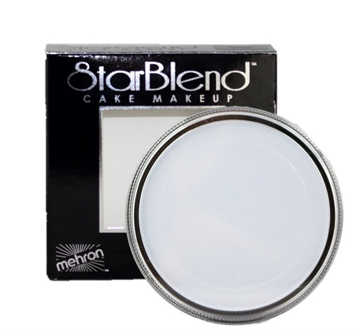 StarBlend Powder Face Paint By Mehron - Moonlight White 56gr - Jest Paint Store