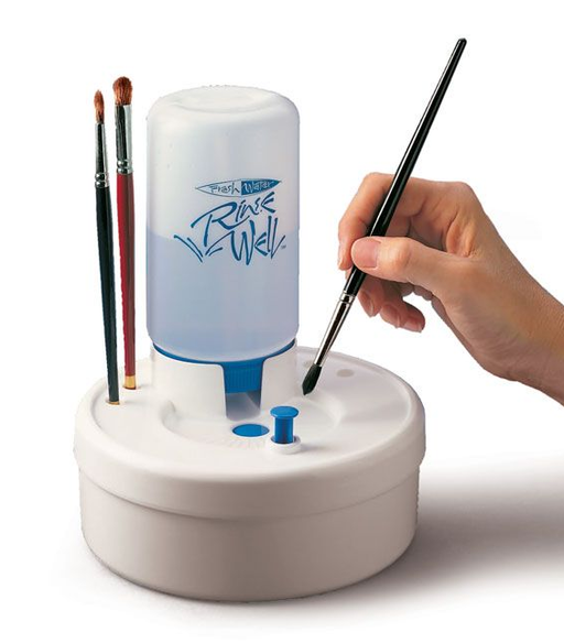 Masterson Art Products | Fresh Water Rinse Well Face Paint Brush Cleaning System