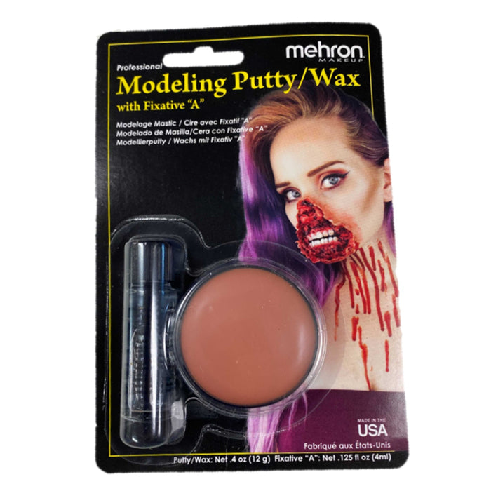 Mehron | Modeling Putty / Wax and Fixative A - Jest Paint Store