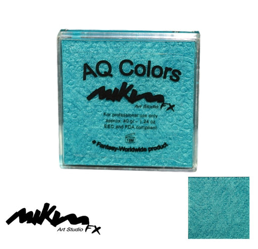 MiKim FX Face Paint | Special (Pearl) - Turquoise S15 (40gr) - Jest Paint Store