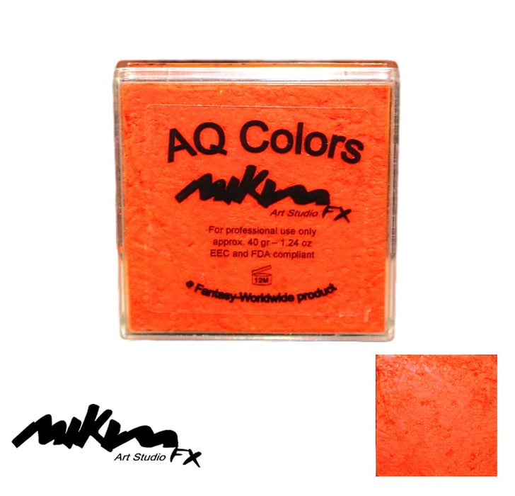MiKim FX | Neon Matte HYBRID Paint - Bright Orange BR02 (40gr) - DISCONTINUE