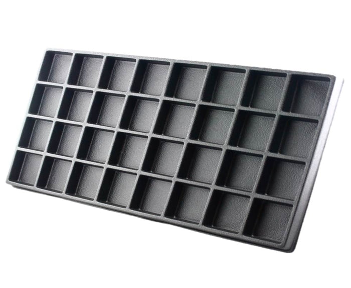 Plastic Insert for Wooden Case - 32 holes - Jest Paint Store