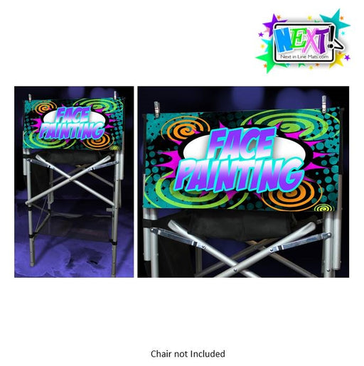 Next In Line Mats Co. - Face Painting Sign - Comics V3 - Jest Paint Store