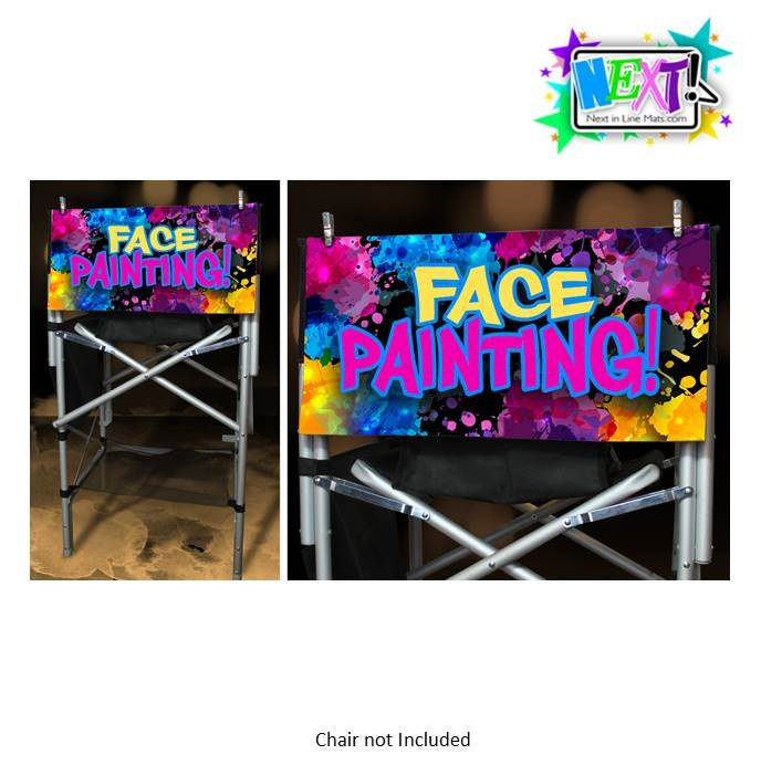 Next In Line Mats Co. - Face Painting Sign - Graffiti Splash - Jest Paint Store