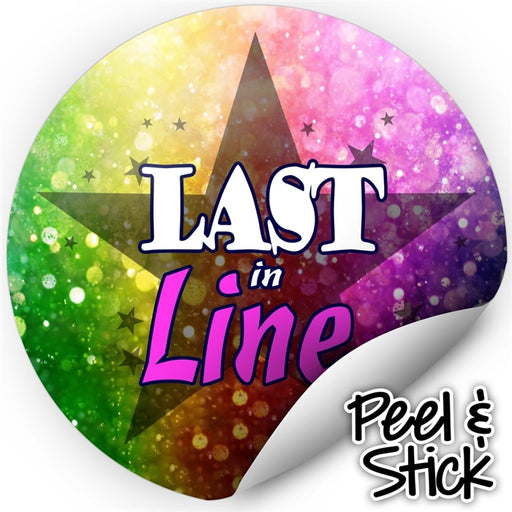 Next In Line Mats Co. | Last in Line Stickers - Princess Rainbow (Set of 50) - Jest Paint Store