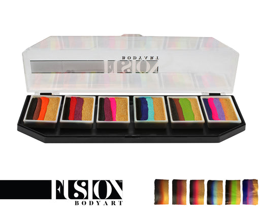 Fusion Body Art - Spectrum Face Painting Palette | Natalee Davies Gold Range Collection