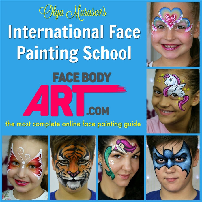 Olga Murasev's International Face Painting School - Jest Paint Store