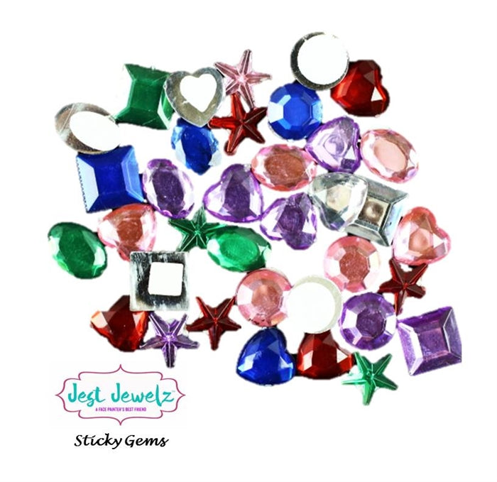 Jest Jewelz - Sticky Gems - Bold and Pastel Colors - Jest Paint Store