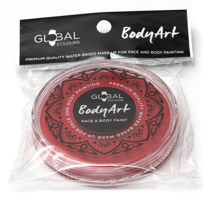 Global Colours Body Art | Face and Body Paint - NEW Old Red (32gr) 2