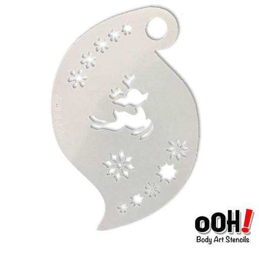 Ooh! Face Painting Stencil | Baby Reindeer (R07)