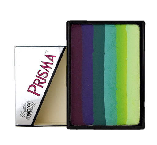Paradise PRISMA Rainbow Face Paint Cake By Mehron | Breeze 50gr - Jest Paint Store