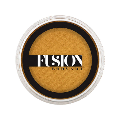 Fusion Body Art Face Paint - Pearl Metallic Gold 32gr - Jest Paint Store