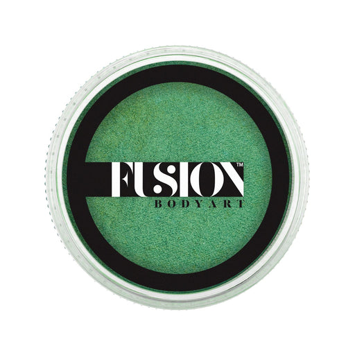 Fusion Body Art Face Paint - Pearl Mint Green 25g - Jest Paint Store