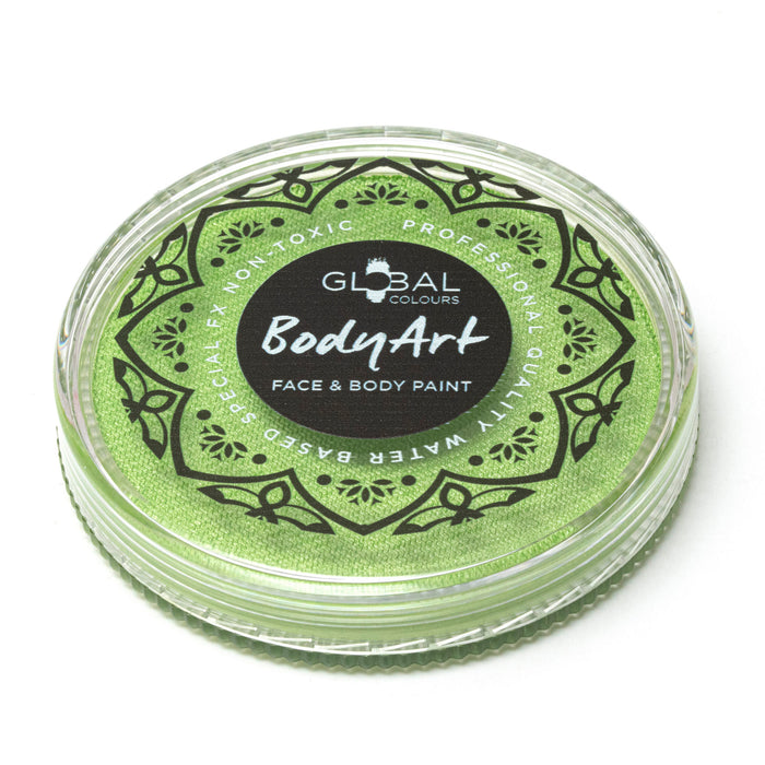 Global Body Art Face Paint | NEW  Pearl Lime  32gr