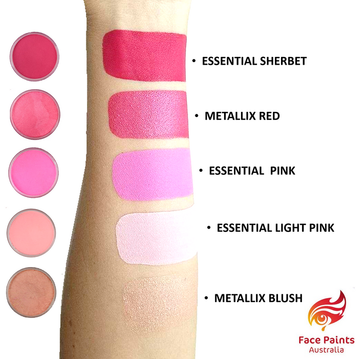 Face Paints Australia Face and Body Paint | Pink Blush swatch