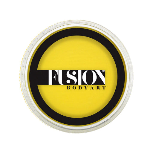 Fusion Body Art Face Paint - Prime Bright Yellow 32gr - Jest Paint Store