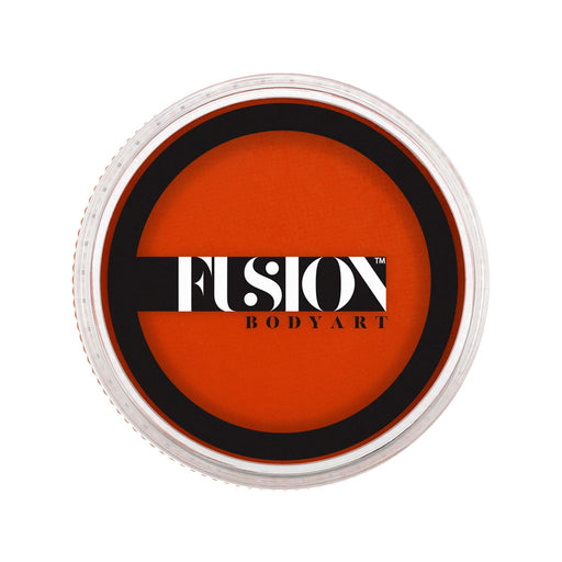 Fusion Body Art Face Paint - Prime Orange Zest 32gr - Jest Paint Store