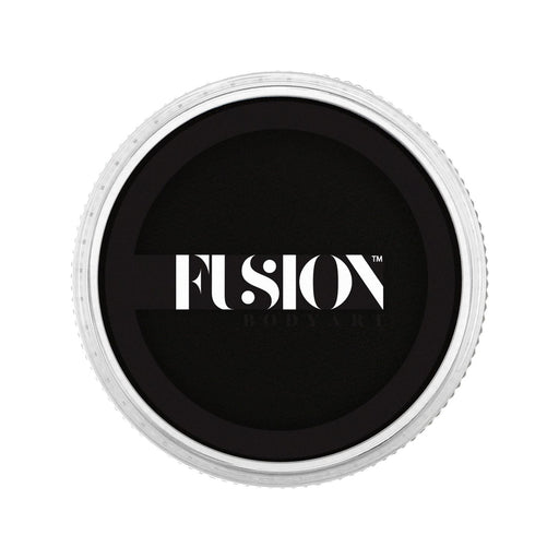 Fusion Body Art Face Paint - Prime Strong Black 32gr - Jest Paint Store