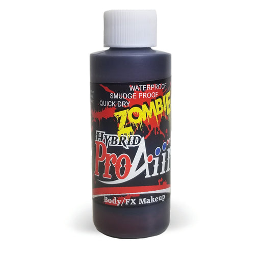 ProAiir Alcohol Based Hybrid Airbrush Body Paint 2oz - Old Blood / Zombie