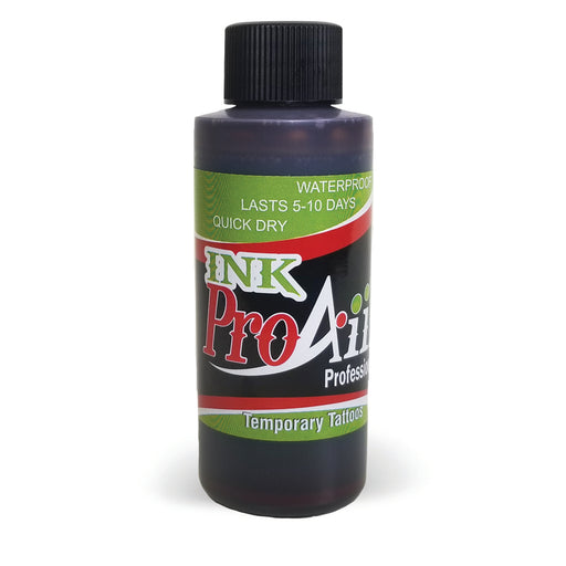 ProAiir INK Alcohol-Based Airbrush Body Paint 2oz - Brown - Jest Paint Store