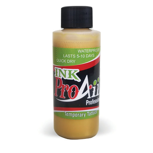 ProAiir INK Alcohol-Based Airbrush Body Paint 2oz - Metallic Gold - Jest Paint Store